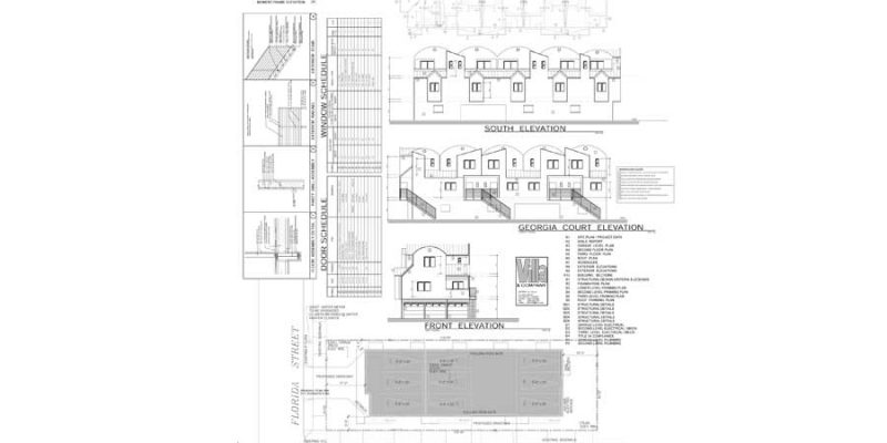 Multi Family Units Construction