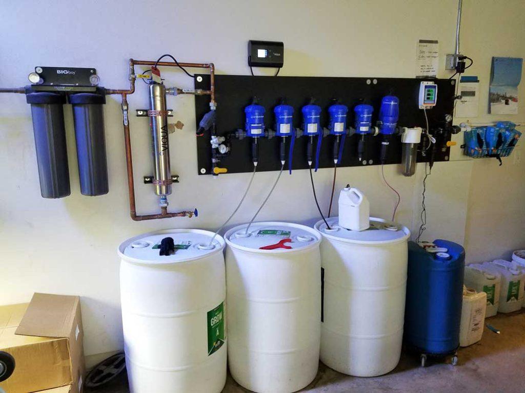 grow facility fertilizer
